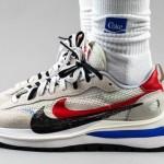 """【着用画像】sacai x Nike VaporWaffle """"Game Royal/Sport Fuchsia""""【サカイ x ナイキ】"""