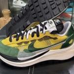 """【最新画像】sacai x Nike VaporWaffle """"Tour Yellow""""【サカイ x ナイキ ヴェイパーワッフル】"""