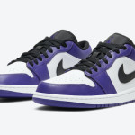"【10月13日発売】Air Jordan 1 Low ""Court Purple"" 553558-500"