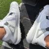 """【リーク】Air Jordan 4 Golf """"White Cement""""【エアジョーダン4 ゴルフ】"""