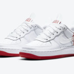 【近日発売】Nike Air Force 1 University Red Rose CN8534-100