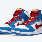 """【公式写真】Nike SB Dunk High """"Doraemon""""【ナイキ SB ダンク ハイ ドラえもん】"""