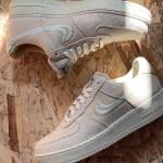 """【リーク】Stussy x Nike Air Force 1 Low """"Fossil Stone"""""""