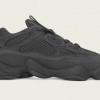 """【11月30日再販!?】adidas Yeezy 500 """"Utility Black""""【イージー 500 ユーティリティー ブラック】"""