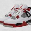 """【公式写真】Air Jordan 4 """"Fire Red""""【エアジョーダン4 ファイアーレッド】"""