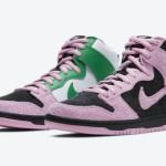 """【10月10日9:00発売】Nike SB Dunk High """"Invert Celtics""""【ナイキ SB ダンク ハイ """"インバート・セルティックス""""】"""