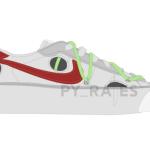 【2021年夏に発売予定】Off-White x Nike Blazer Low【オフホワイト x ナイキ ブレザー ロー】