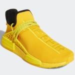 """【2020年後半に発売】Pharrell x adidas NMD Hu """"Yellow""""【ファレル x アディダス NMD Hu】"""